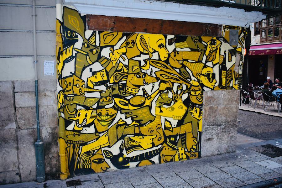 I Murales nel Barrio Del Carmen   Cosa fare e vedere a Valencia