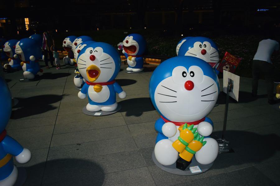 Cosa vedere a Tokyo Giappone: Doraemon