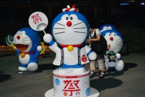 Statue di Doraemon a Roppongi | Cosa fare e vedere a Tokyo