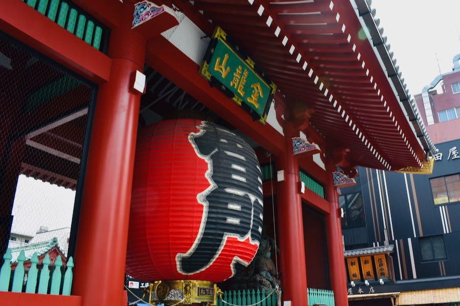 Cosa vedere a Tokyo Giappone: Kaminarimon