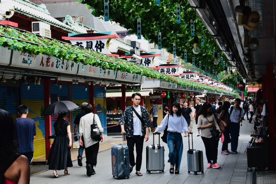 Cosa vedere a Tokyo Giappone: Nakamise Dori