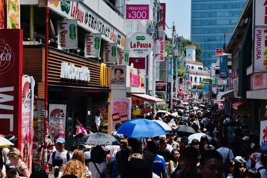 Cosa vedere a Tokyo Giappone: Takeshita Street