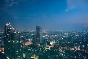 Vista dal Metropolitan Government Office Building | Cosa fare e vedere a Tokyo