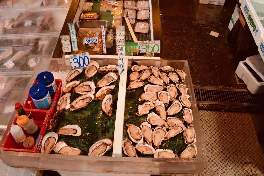 Cosa vedere a Tokyo Giappone: Tsukiji Fish Market