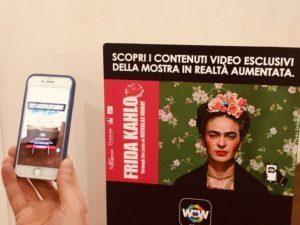 Video esclusivi grazie alla realtà aumentata | Frida Kahlo Through The Lens Of Nickolas Muray