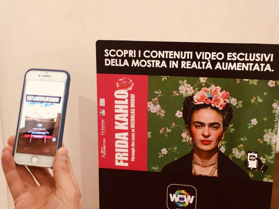 Frida Kahlo Through The Lens of Nickolas Muray - Mostra Fotografica Stupinigi: Video esclusivi grazie alla realtà aumentata