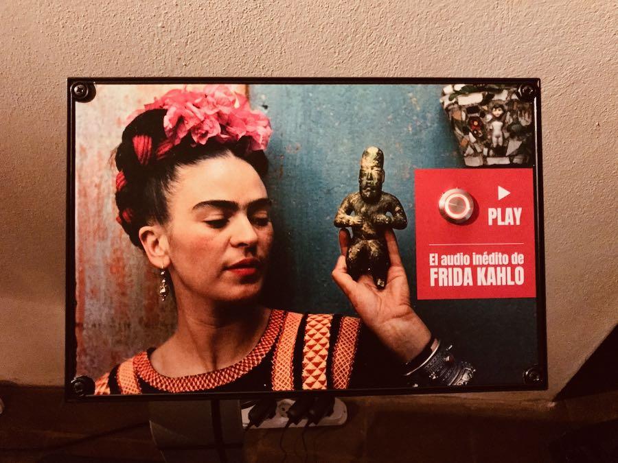 Frida Kahlo Through The Lens of Nickolas Muray - Mostra Fotografica Stupinigi:  L'audio inedito dell'artista messicana