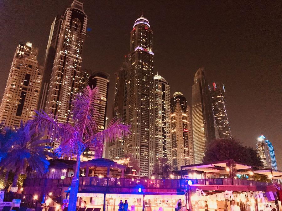 Barasti Beach By Night | Cosa vedere a Dubai