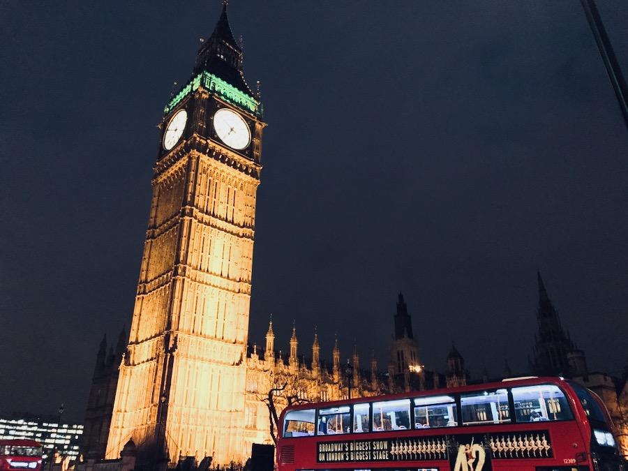 Big Ben Houses Of Parliament   Cosa vedere a Londra