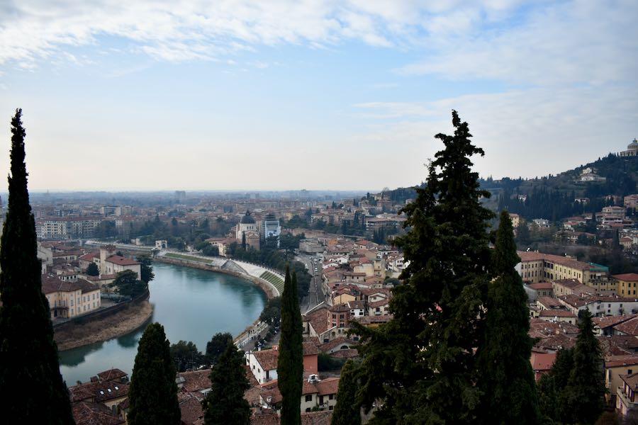 Cosa vedere a Verona e dintorni: Castel San Pietro Vista Verona