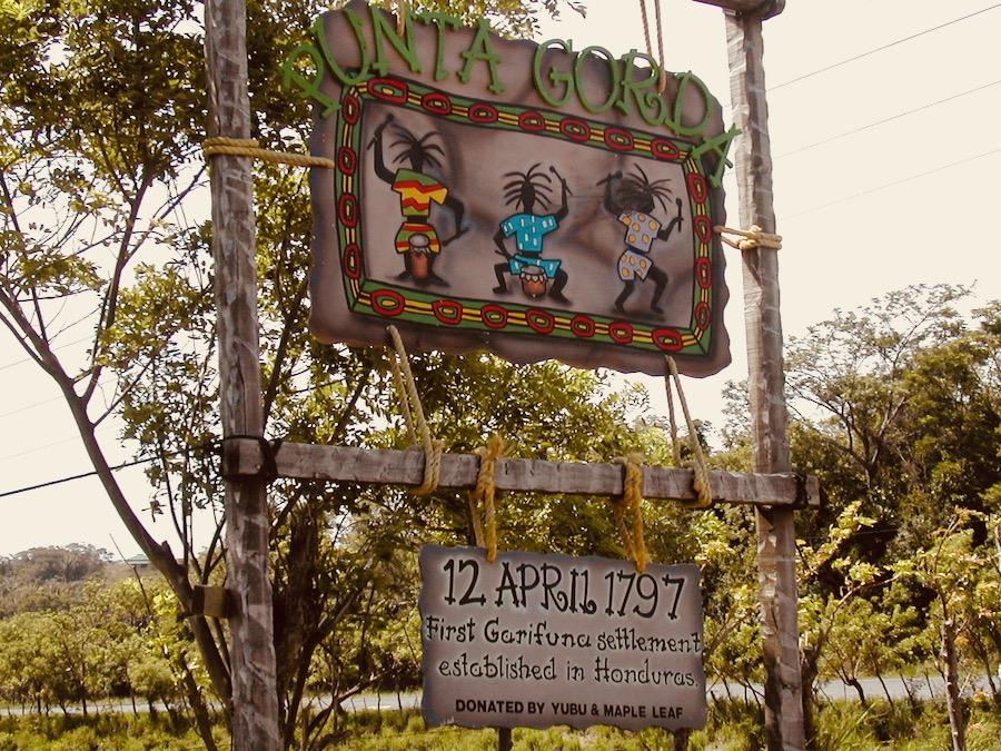 isola di roatan honduras: punta gorda