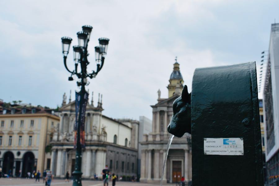 Toret Piazza San Carlo | Cose da vedere a Torino