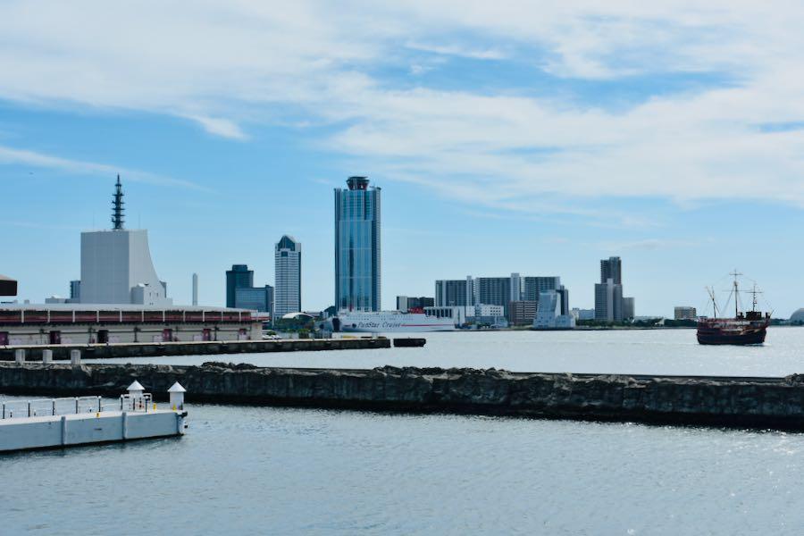 Cosa vedere a Osaka Giappone: Baia di Osaka