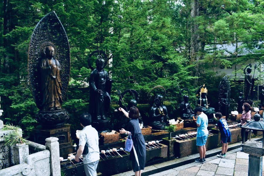 Koyasan Giappone: Gokusho Offering Hall Cimitero Okunoin