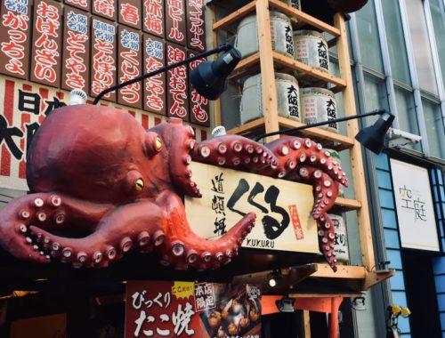 Cosa fare e vedere a Osaka: Street-food Dōtonbori