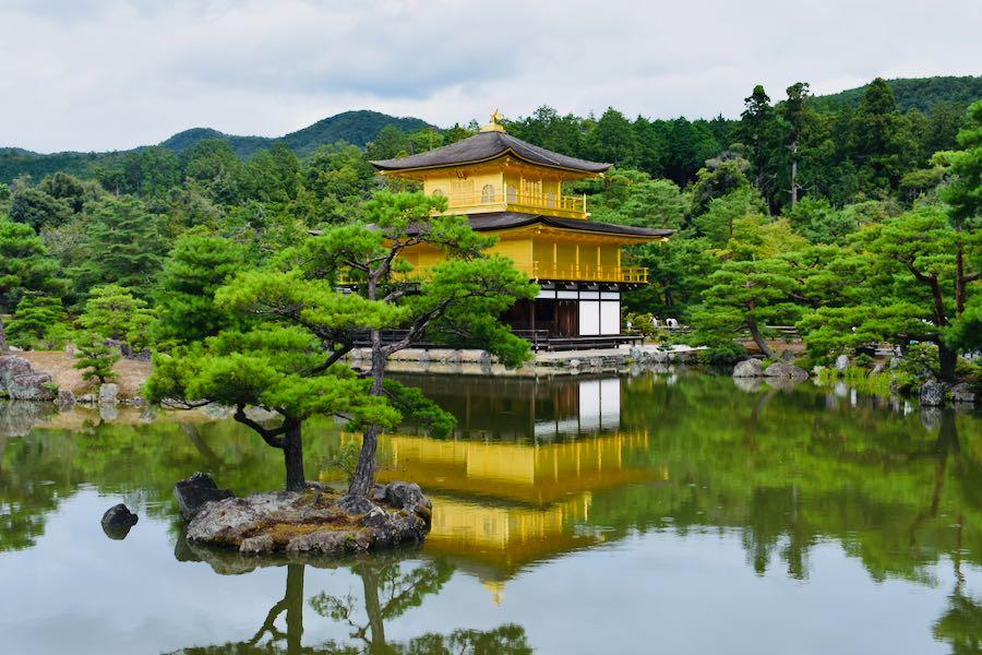 Giappone cosa vedere: Kinkaku-ji Kyoto