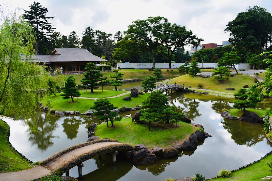 Giappone cosa vedere: Parco del Castello di Kanazawa