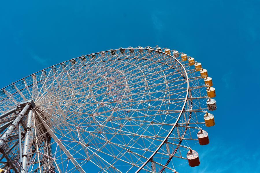 Cosa vedere a Osaka Giappone: Ruota Panoramica Tempozan Giant Ferris Wheel