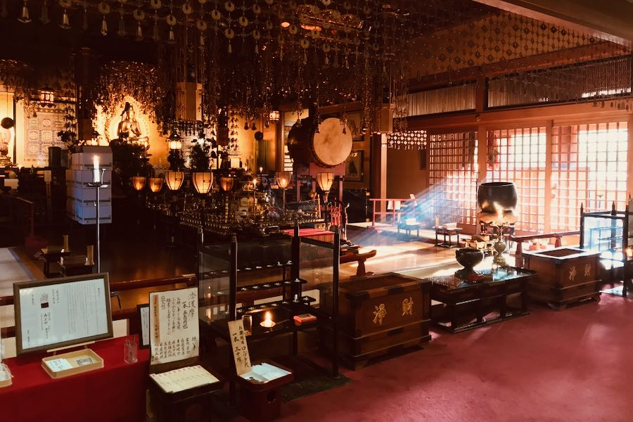 Koyasan Giappone: Shukubo Henjosonin