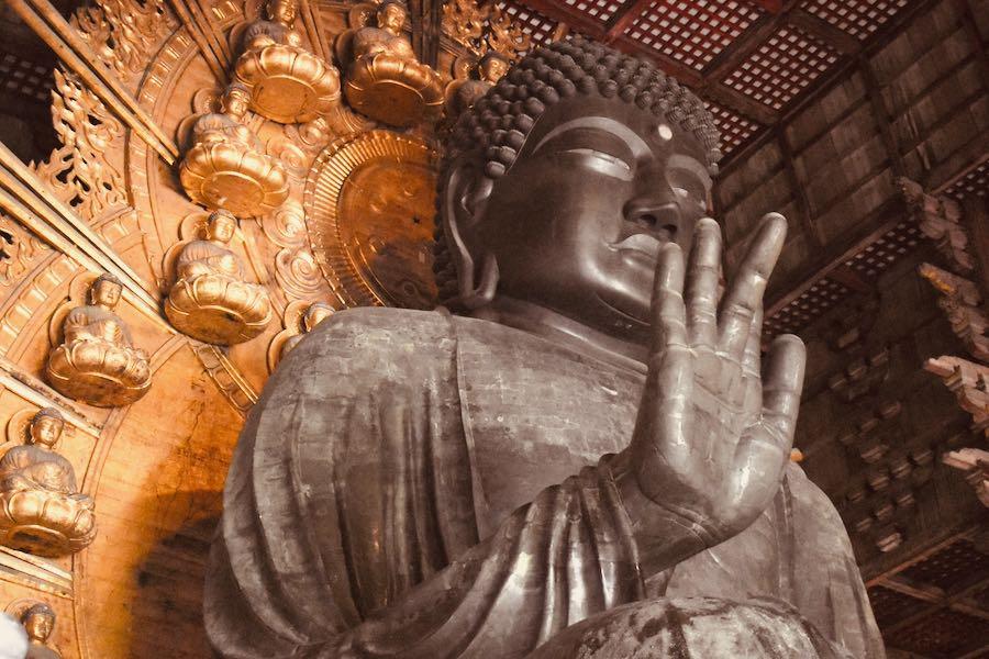 Giappone cosa vedere: Grande Buddha Todai-ji Temple Nara