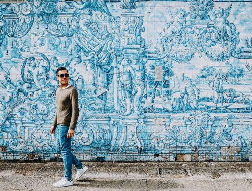 L'Ospite In Valigia: Fabio Tusoperator Azulejos Porto Portogallo