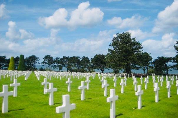 L'Ospite In Valigia: Nicoletta Senti Chi Viaggia Cimitero e Monumento alla Memoria Americano Normandia Francia
