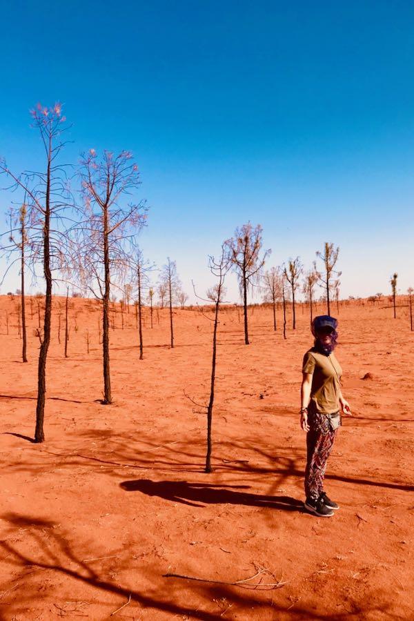 L'Ospite In Valigia: Giulia Tripandclean Deserto Outback Australia
