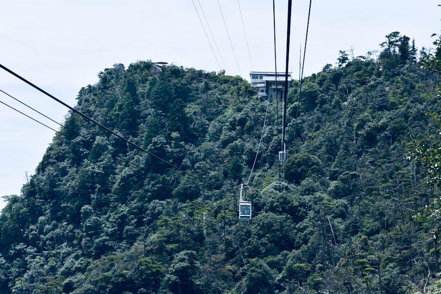 Isola di Miyajima: Funicolare Monte Misen