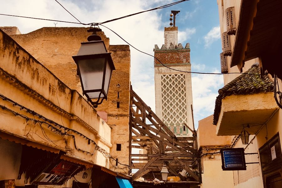 L'Ospite In Valigia: Fabio Tusoperator Medina Fes Marocco