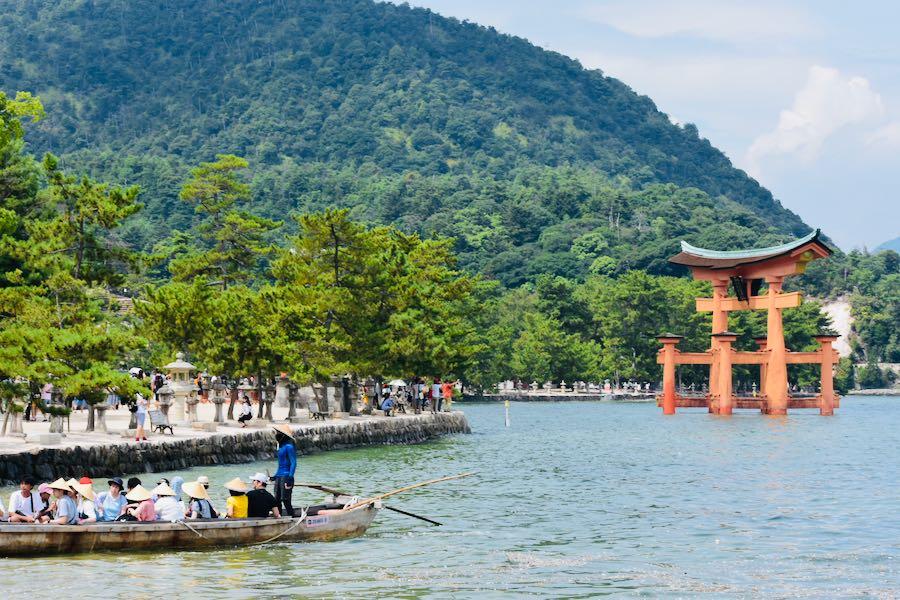 Isola di Miyajima: Torii