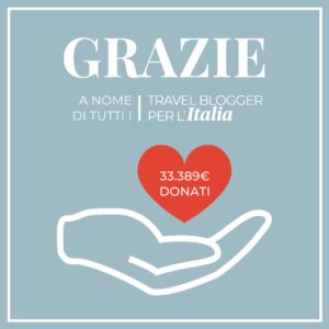 Travel Blogger Per L'Italia | Somma raccolta