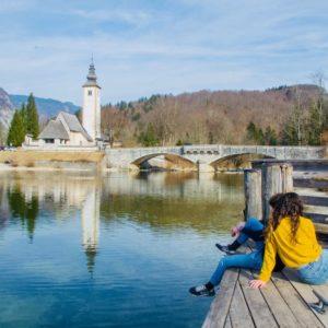 L'Ospite In Valigia: Ornella Filippo Viaggiadori Lago Di Bohinj Slovenia