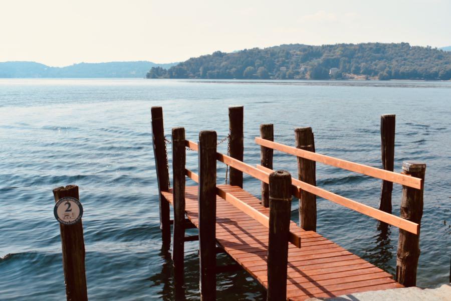 Isola di San Giulio | Pontili