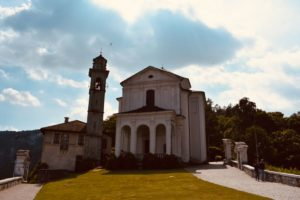 Santuario Madonna Del Sasso   Lago D'Orta