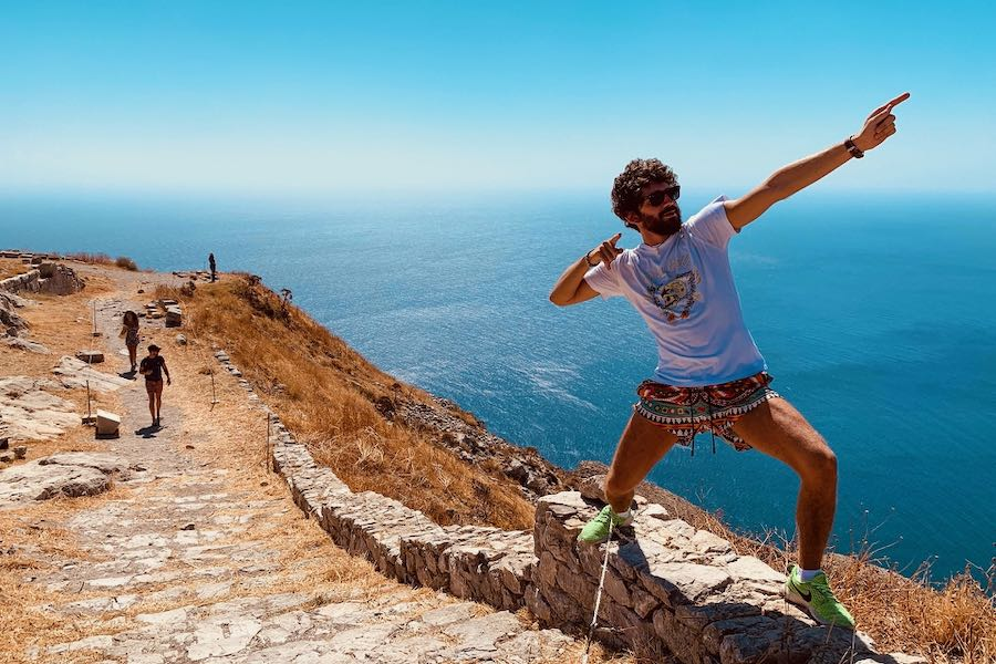 L'Ospite In Valigia: Ornella Filippo Viaggiadori Santorini Grecia