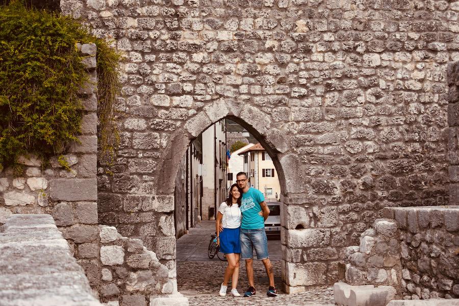 Le mura di cinta | Venzone Borgo