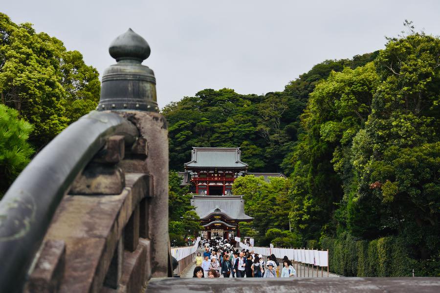 Tsurugaoka Hachimangū (Kamakura)   On The Road Giappone