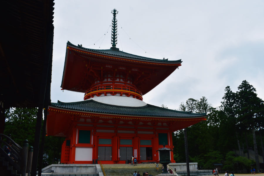 Complesso Del Garan (Koyasan) | On The Road Giappone