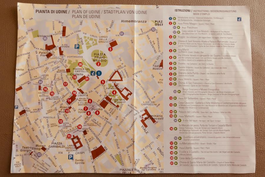 Mappa Audioguida Udine | Cosa Vedere A Udine