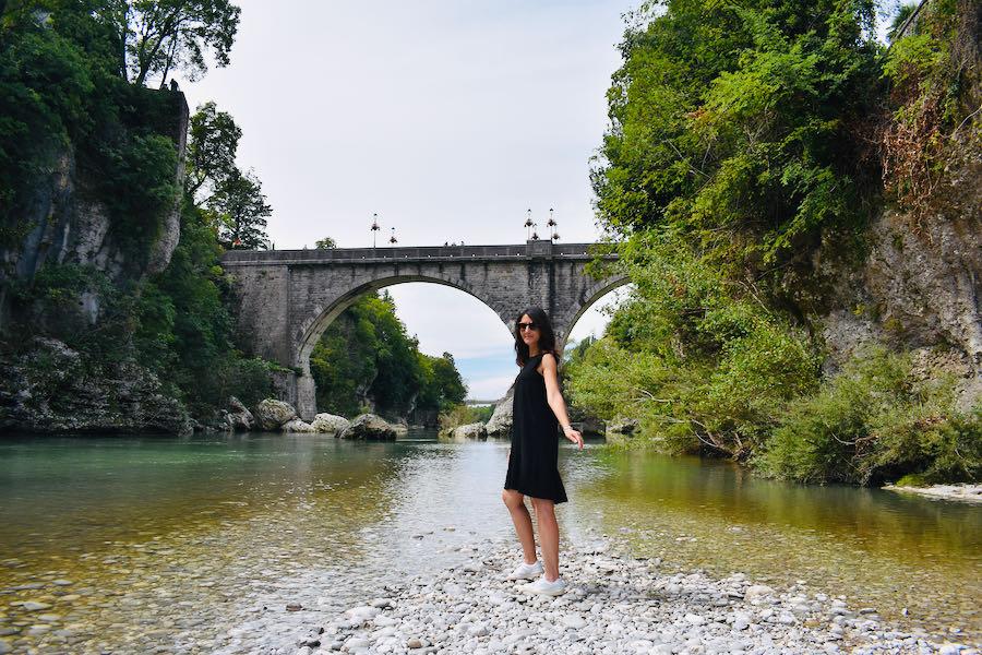 Ponte Del Diavolo Rive Fiume Natisone | Cividale Del Friuli