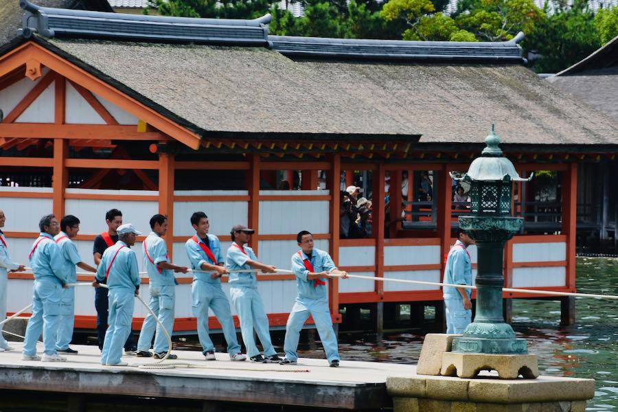 Santuario Di Itsukushima (Miyajima)   On The Road Giappone