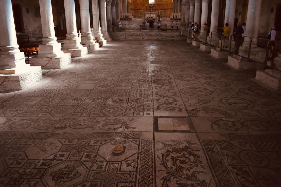 Mosaico   Basilica Di Aquileia
