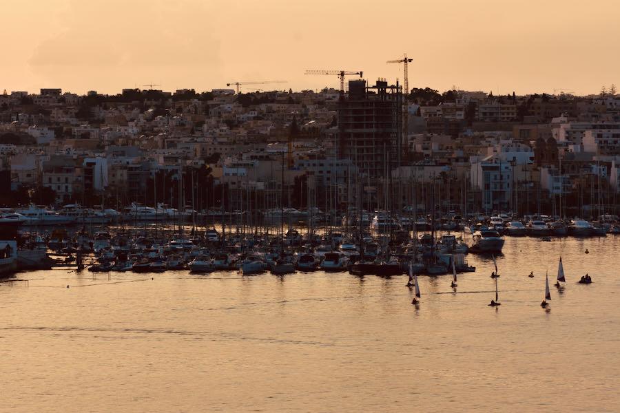Cosa Vedere A Malta In Tre Giorni   Tramonto a La Valletta