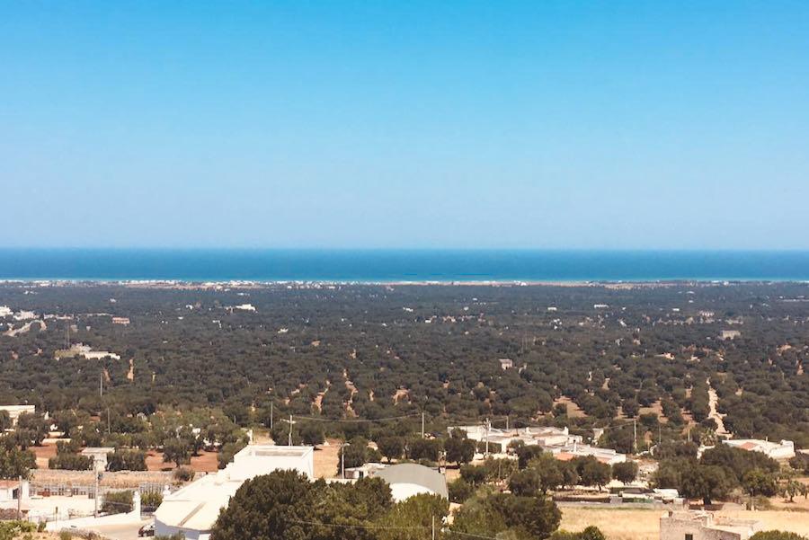 Ostuni Spiagge   Panorama Vista Mare