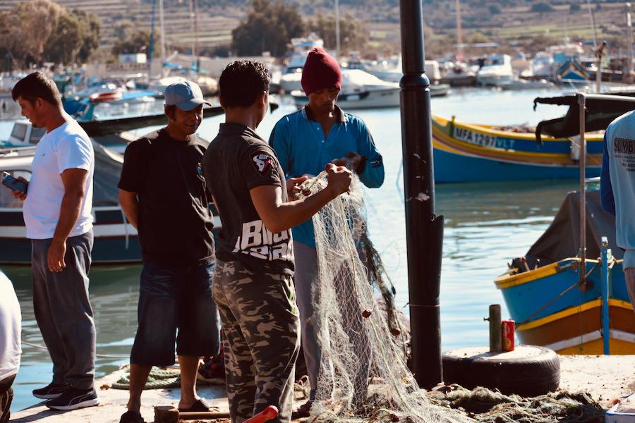 Visitare Malta In 4 Giorni   Pescatori Marsaxlokk