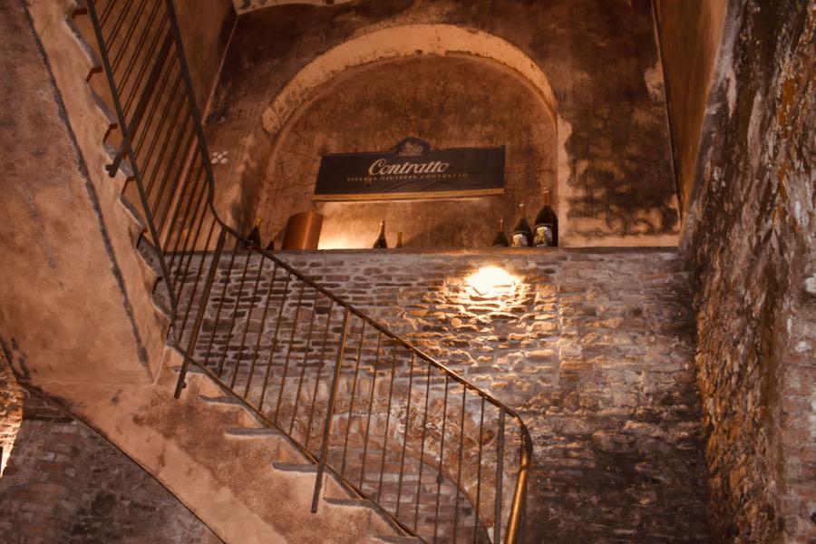 Cattedrali Sotterranee Canelli | Contratto