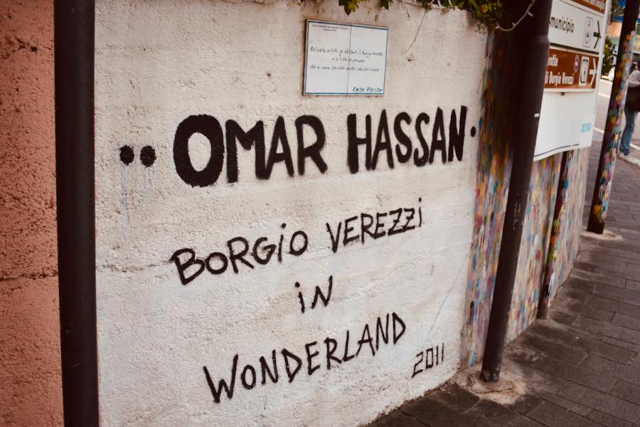 Borgio | Murales Borgio Verezzi In Wonderland