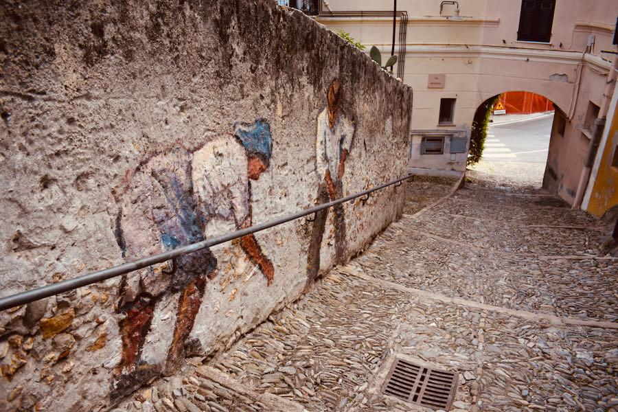 Borgio Verezzi Liguria | Murales Mario Nebiolo
