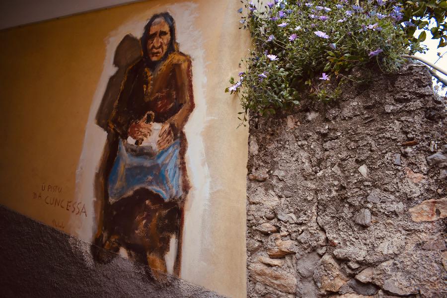Liguria Borgio Verezzi | Murales Mario Nebiolo