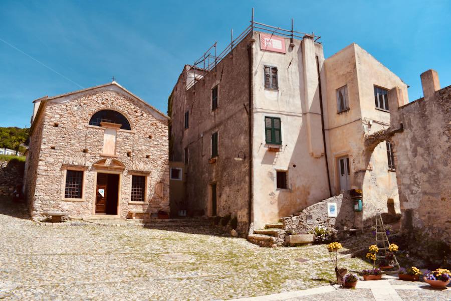 Verezzi Liguria | Piazza Sant'Agostino